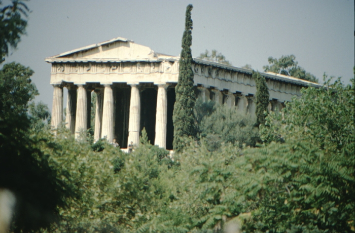 Athens, ancient temple
