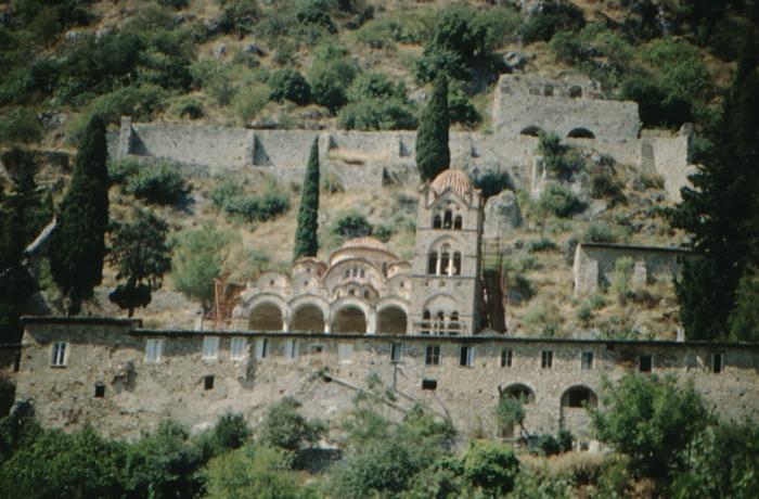Greek Middle Ages: Mystras