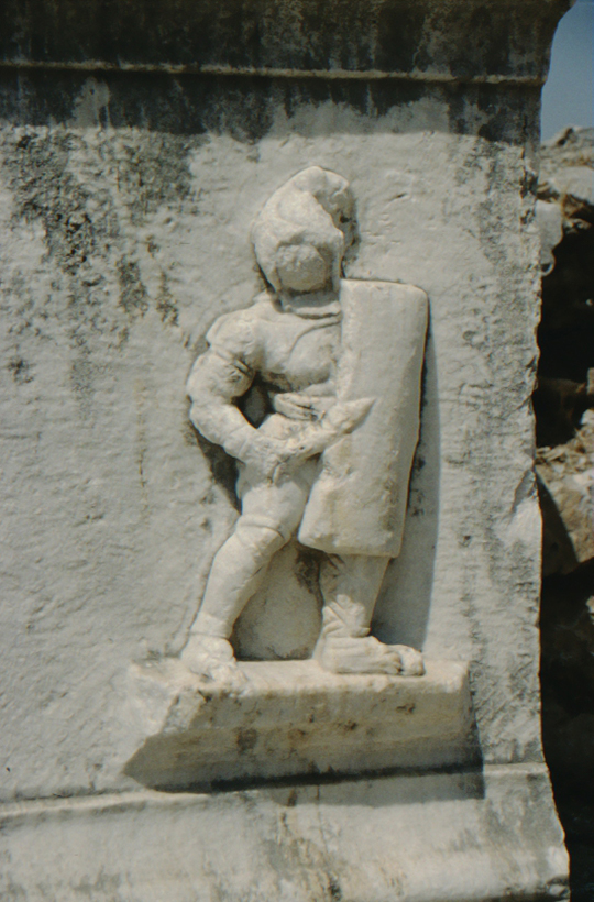 Ephesus, Roman foot soldier