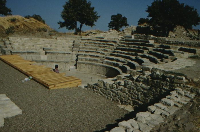 Troy, Roman theatre