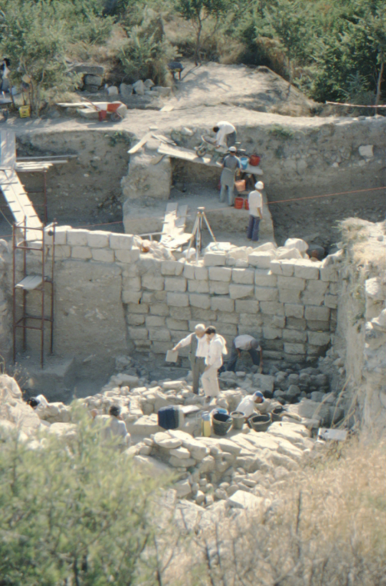Troy, excavations