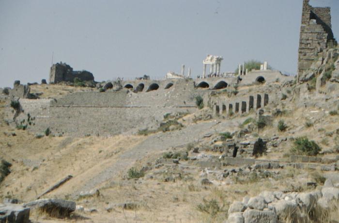 Pergamum, panorama