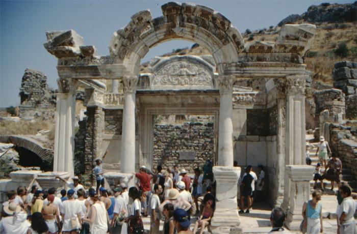 Ephesus, palace