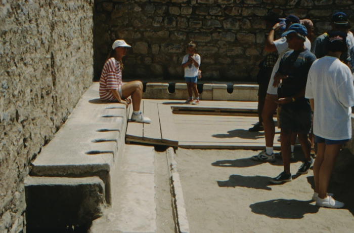 Ephesus, ancient toilet