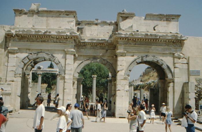 Ephesus, gate