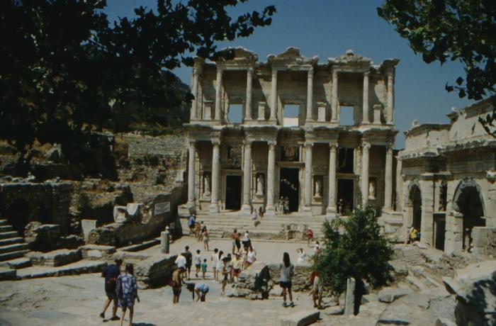 Ephesus, library