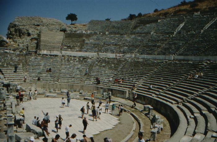 Ephesus, theatre