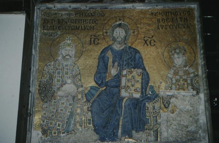 Istanbul, Hagia Sophia, Christ