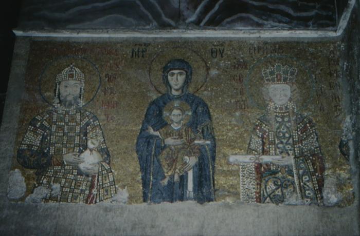 Istanbul, Hagia Sophia, Mary