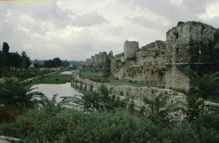 Istanbul, Theodosian Walls