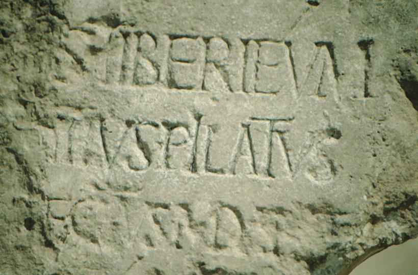 Caesarea Maritima, Pilate inscription