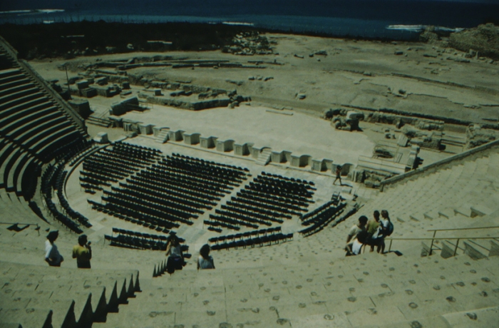 Caesarea Maritima, Roman theatre