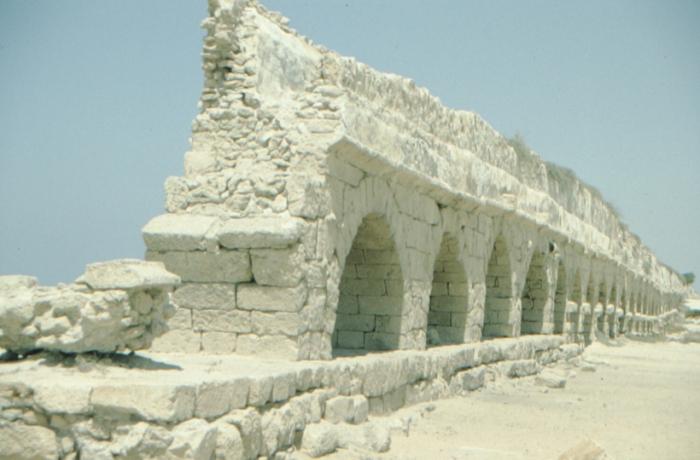 Caesarea Maritima, water pipeline