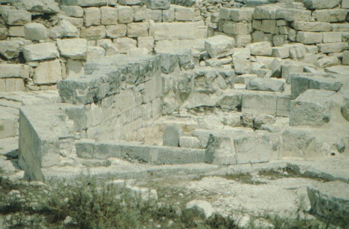 Gerizim, ancient Samaritan temple