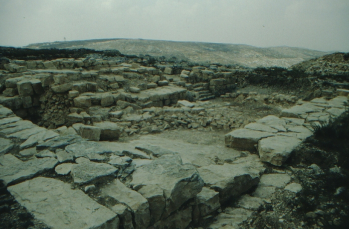 Gerizim, ancient ruins