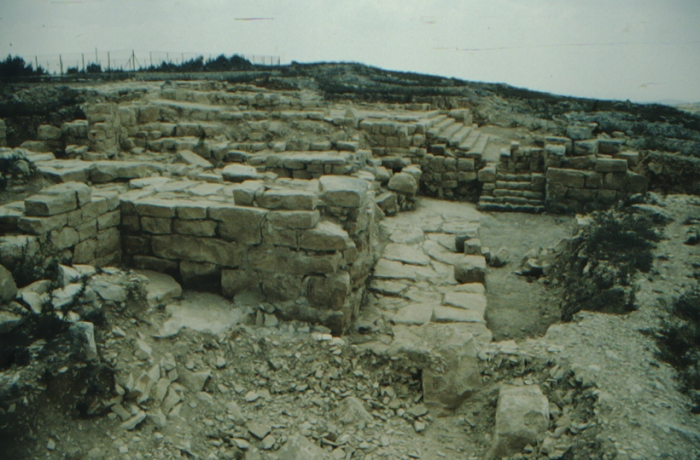 Gerizim, ancient ruins