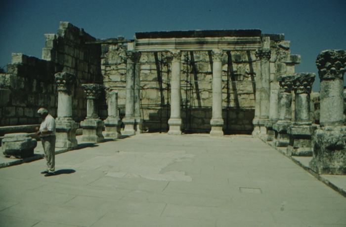 Capernaum, ancient synagogue