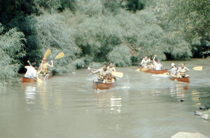 Jordan, boat trip