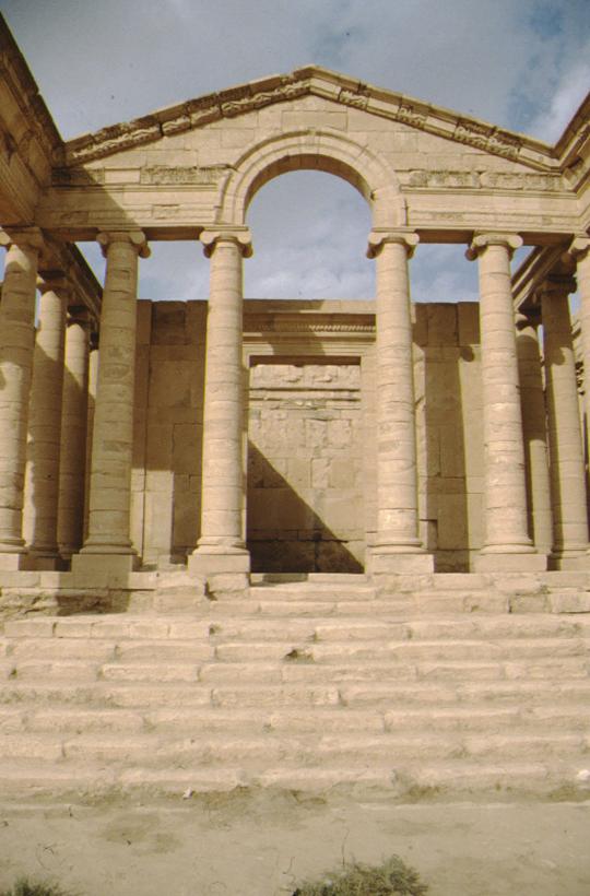 Hatra, temple