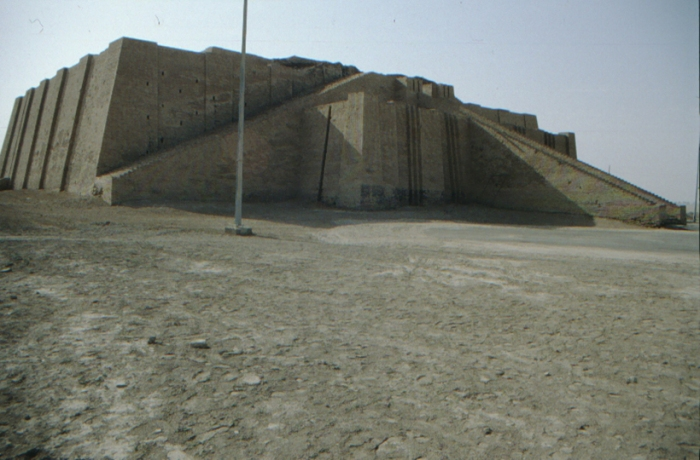 Ur, ziggurat, reconstruction