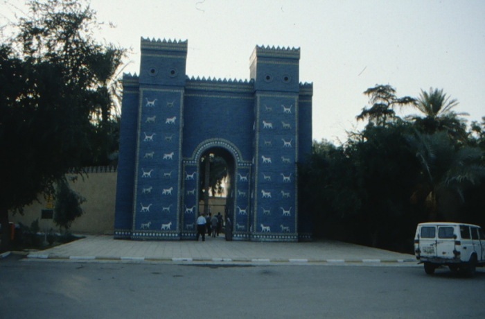 Babylon, Ishtar Gate, reconstruction