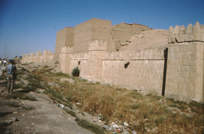 Nineveh, ancient city wall