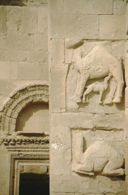 Hatra, camel statue