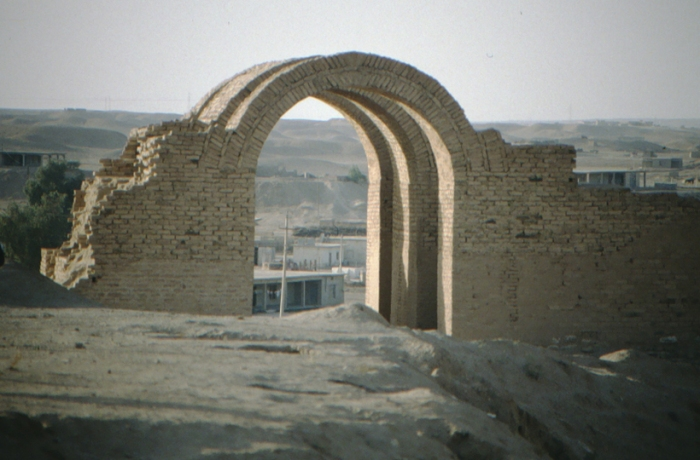 Assur, arched gateway, reconstruction