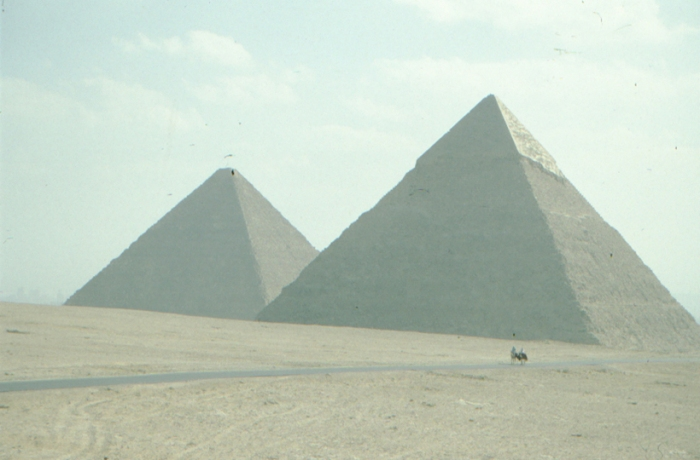 Pyramids of Cheops and Chephren