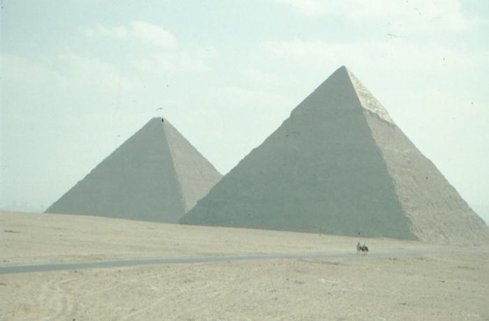 Pyramids of Cheops and Chephren