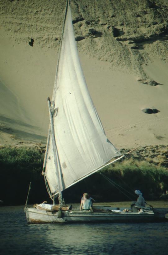 Aswan, felucca