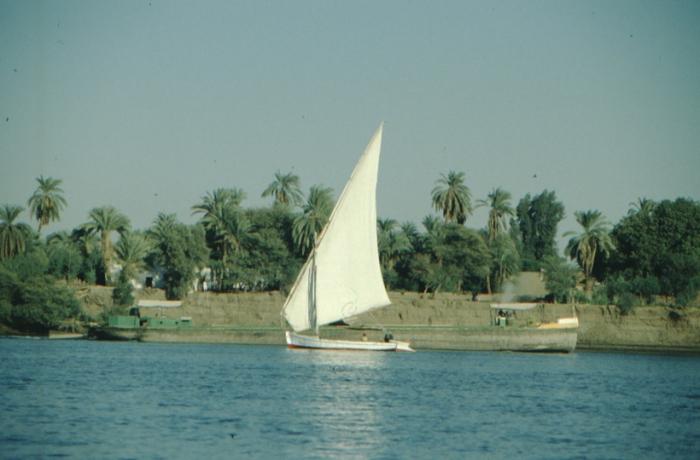 Luxor, felucca