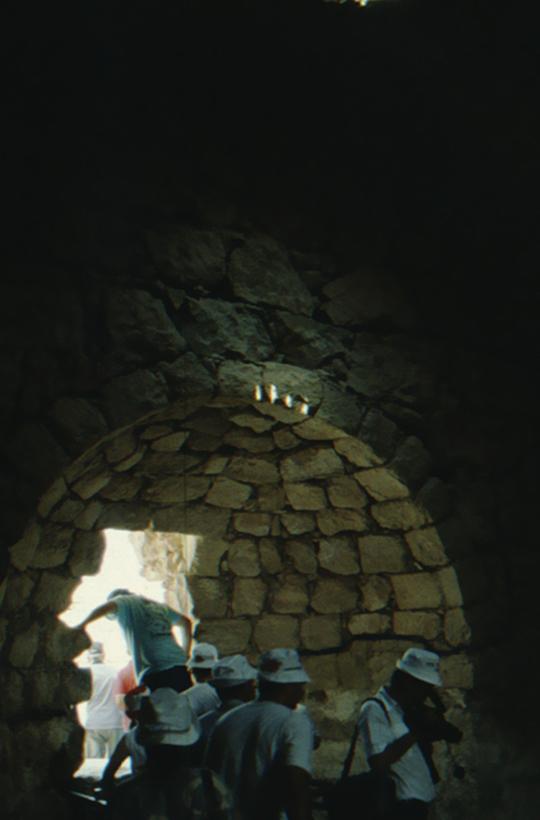 Masada, vault