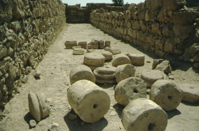 Masada, column drums