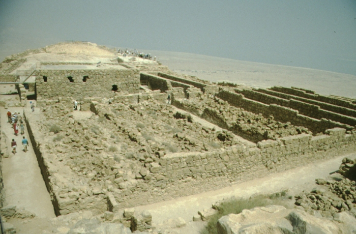 Masada, ruins