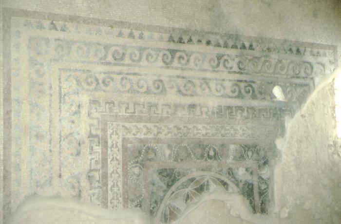 Masada, mosaic
