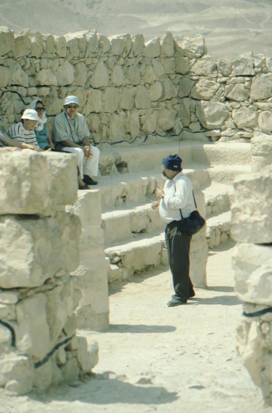 Masada, ancient building
