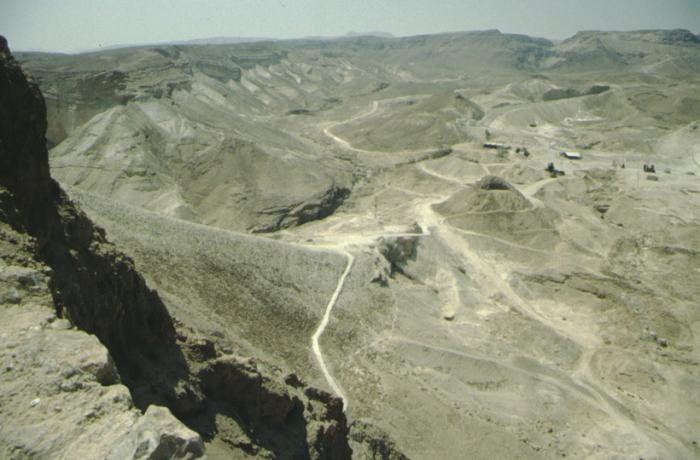 Masada, Roman ramp