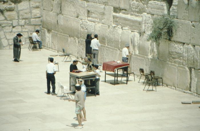 Jerusalem, Wailing Wall, Jewish ritual