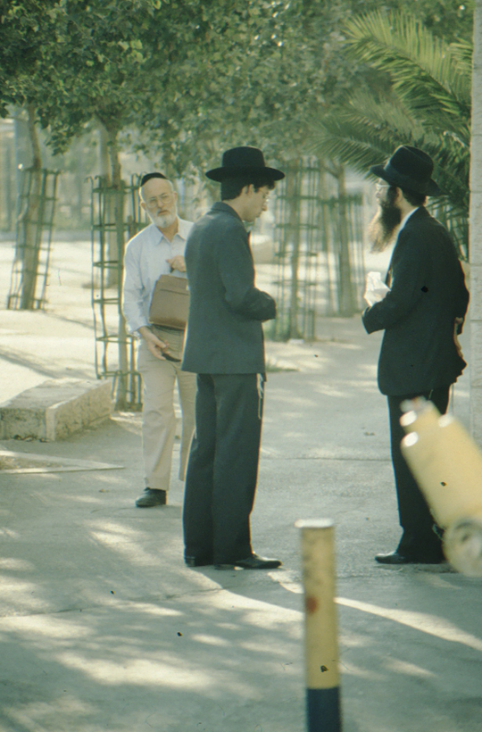 Jerusalem, orthodox Jews