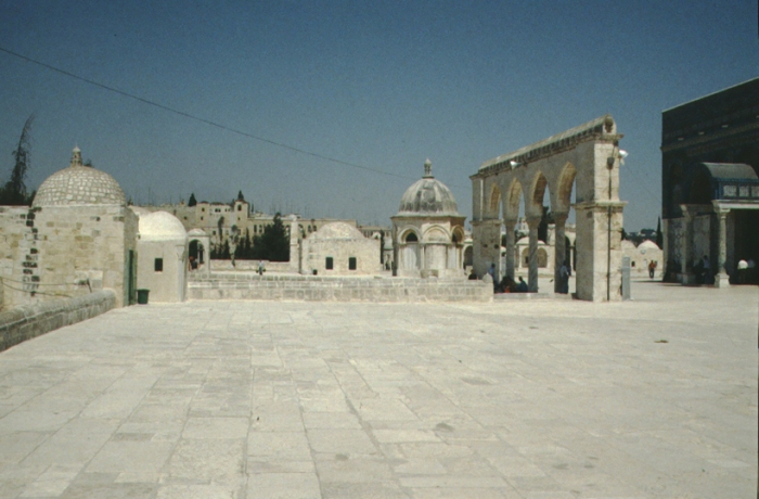Jerusalem, Temple Mount (north)