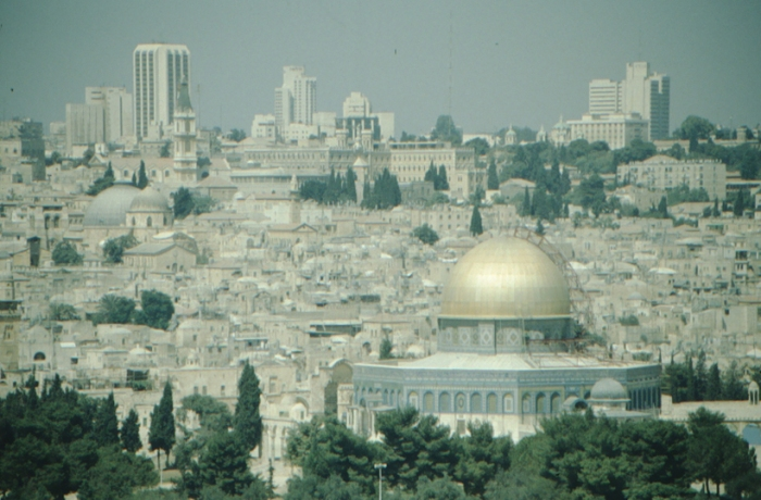 Jerusalem, view from Mount of Olives