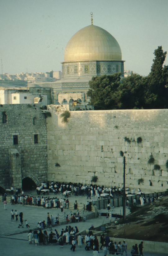 Jerusalem, Dome of the Rock, Wailing Wall