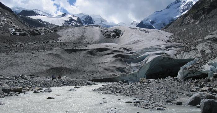 Glacier Morteratsch, Pontresina, Upper Engadine 2011
