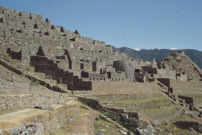 Palace District, Machu Picchu, Peru