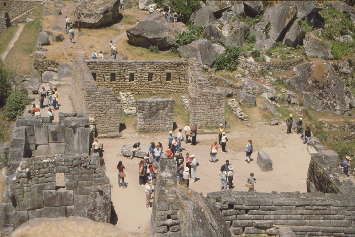 Temple Square, Machu Picchu, Peru