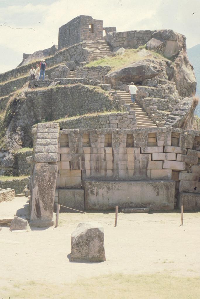 Main temple + Intihuatana, Machu Picchu, Peru