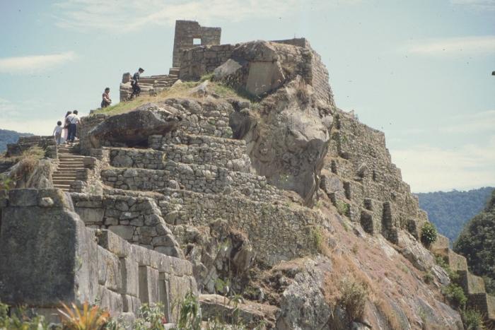 Intihuatana + Temple Mount, Machu Picchu, Peru