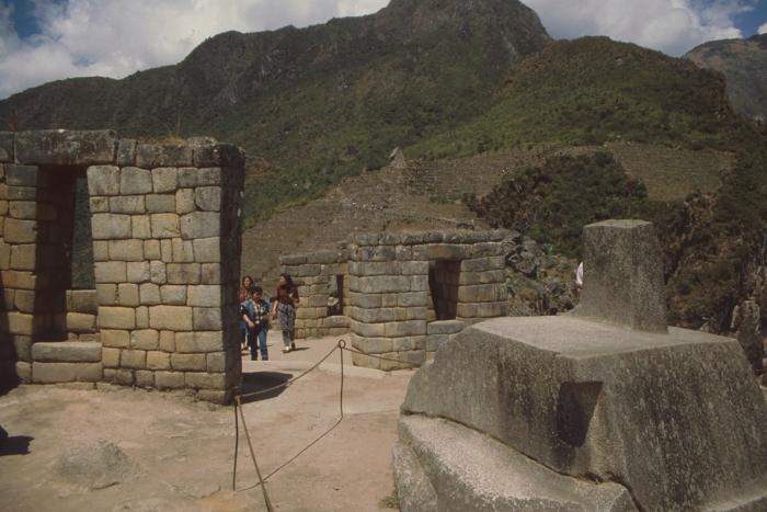 Temple Mount + Intihuatana, Machu Picchu, Peru