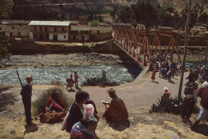 Rail journey to Lake Titicaca, Peru